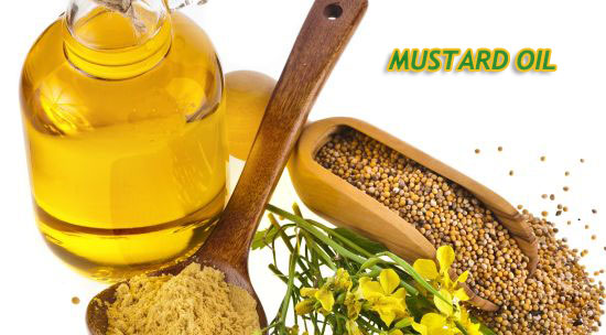 mustard oil   and seeds