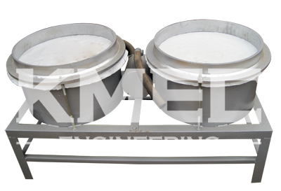 vacumm filters of the 120a screw oil expeller
